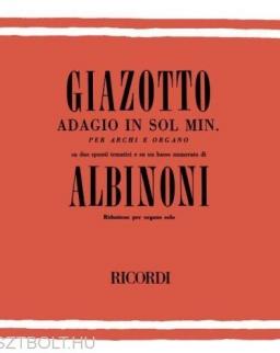 Tomaso Albinoni: Adagio orgonára
