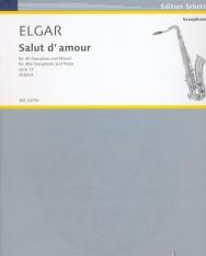Elgar: Salut d' amour (alt-szaxofonra)