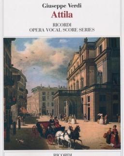 Giuseppe Verdi: Attila - zongorakivonat (olasz)