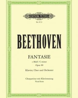 Ludwig van Beethoven: Chorfantasie - Karfantázia op. 80. - zongorakivonat