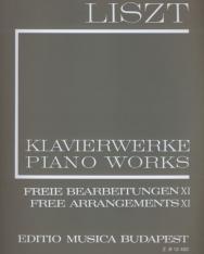 Liszt Ferenc: Freie Bearbeitungen 11. (fűzött)