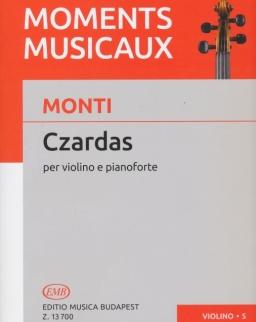 Vittorio Monti: Czardas - hegedűre, zongorakísérettel