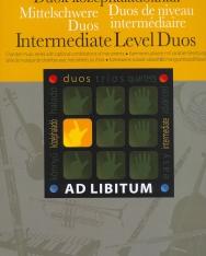 Duók középhaladóknak - Ad libitum sorozat, választható hangszerösszeállítással