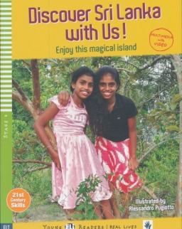Discover Sri Lanka with Us! -  - ELI Young Readers Stage 4   Real Lives
