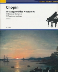 Frédéric Chopin: 10 Selected Nocturnes