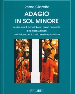 Albinoni - Giazotto: Adagio altszaxofonra
