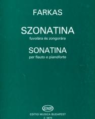 Farkas Ferenc: Szonatina fuvolára