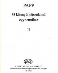 Papp Lajos: 35 Könnyű kétszólamú egyneműkar 2.