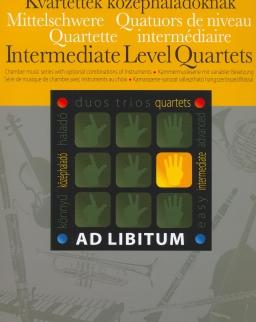 Kvartettek középhaladóknak - Ad libitum sorozat, választható hangszerösszeállítással