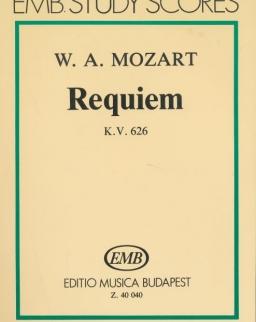 Wolfgang Amadeus Mozart: Requiem kispartitúra