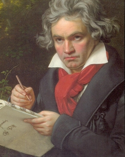 Képeslap Beethoven