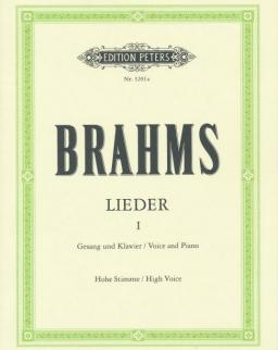 Johannes Brahms: Lieder I. hohe