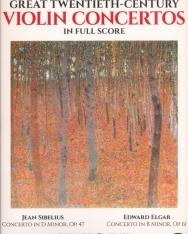 Great 20th Century Violin Concertos - Partitúra