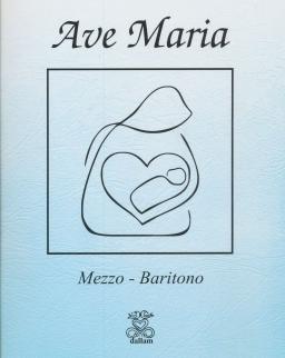 Ava Maria - mezzo/bariton