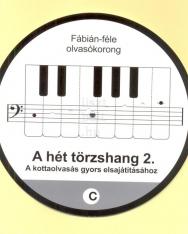 Fábián: Olvasókorong - a hét törzshang 2. (basszuskulcs)