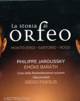 La storia di Orfeo - Philippe Jaroussky, Baráth Emőke