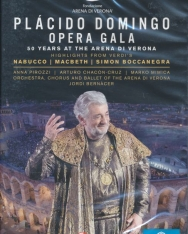 Plácido Domingo Opera Gala (50 Years et the Arena di Verona) - 2 DVD