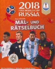 Das offizielle Mal- und Rätselbuch - 2018 FIFA World Cup Russia