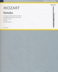 Wolfgang Amadeus Mozart: Sonata - Fagott (violoncello) and Piano K.292
