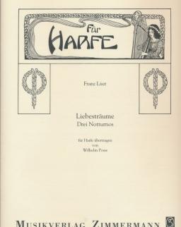 Liszt Ferenc: Liebesträume - hárfára