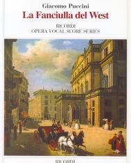 Giacomo Puccini: La Fanciulla del West - zongorakivonat (olasz)