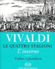Antonio Vivaldi: Quattro stagioni 4. (L'inverno) hegedűre
