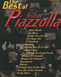 Piazzolla: Best of - ének, zongora, gitár