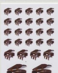 Matrica - zongora