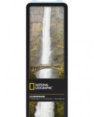 National Geographic 3-D Bookmark - Multnomah Falls