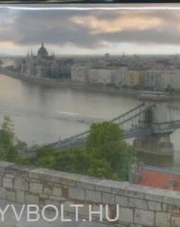 Budapest hűtőmágnes - nagy