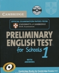 Cambridge Preliminary English Test for Schools 1 Official Examination Past Papers Student's Book with Answers and Audio CD Self-Study Pack