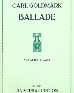 Carl Goldmark: Ballade hegedűre