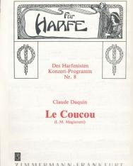 Claude Daquin: Le Coucou - hárfára