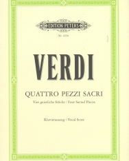 Giuseppe Verdi: Quattro Pezzi Sacri - zongorakivonat