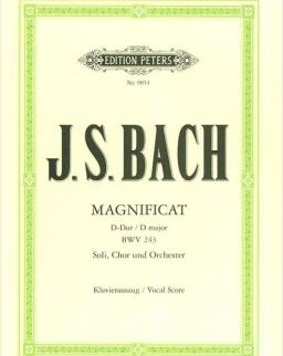 Johann Sebastian Bach: Magnificat - zongorakivonat