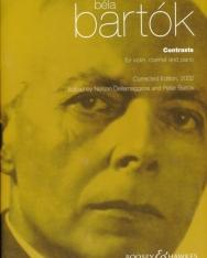 Bartók Béla: Contrasts / Kontrasztok hegedűre, klarinétra és zongorára