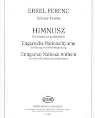 Erkel Ferenc: Himnusz - énekhangra zongorakísérettel