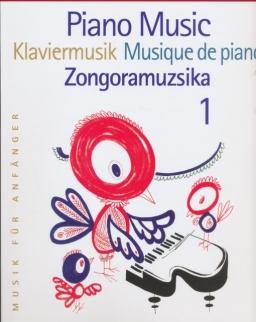 Zongoramuzsika kezdők számára 1.