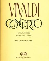 Antonio Vivaldi: Concerto for Oboa (F-dúr)
