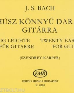 Johann Sebastian Bach: Húsz könnyű darab gitárra