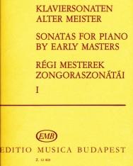 Régi mesterek szonátái 1. (zongorára)
