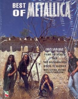 Metallica: Best of - ének, zongora, gitár