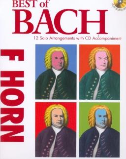 Johann Sebastian Bach: Best of - F kürtre, CD-melléklettel