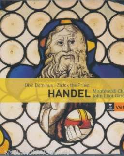 Georg Friedrich Händel: Dixit Dominus, Zadok the Priest, The Ways of Zion Do Mourn - 2 CDHändel: Dixit Dominus, Zadok the Priest, The Ways of Zion Do Mourn - 2 CD