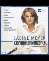 Sabine Meyer: Clarinet Concertos - 5 CD