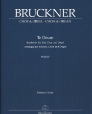 Anton Bruckner: Te Deum - zongorakivonat