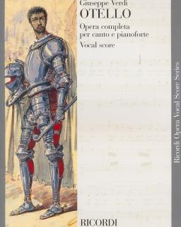 Giuseppe Verdi: Otello - zongorakivonat (olasz, angol)