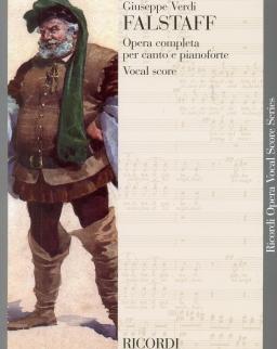 Giuseppe Verdi: Falstaff - zongorakivonat (olasz, angol)