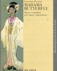 Giacomo Puccini: Madama Butterfly - zongorakivonat (olasz)
