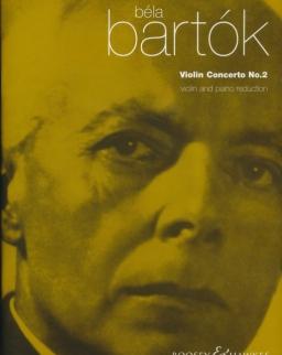 Bartók Béla: Concerto for Violin No 2.